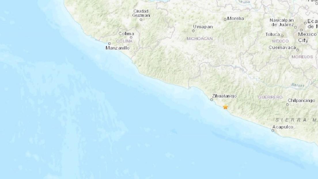 Se registra un sismo de magnitud 5,0 en Guerrero y se siente en la Ciudad de México
