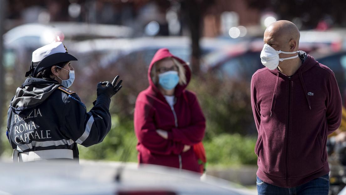 Italia registra 3.039 nuevos casos de coronavirus en un día, la menor cifra diaria desde el 13 de marzo