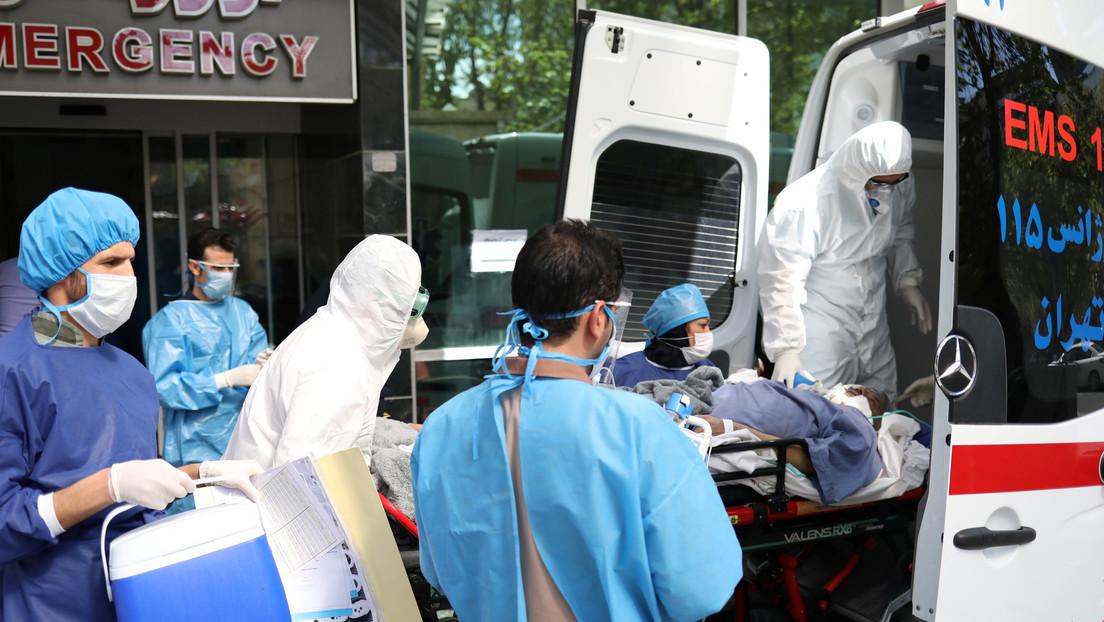Irán registra más de 2.000 infectados y 133 muertos por covid-19 en una jornada