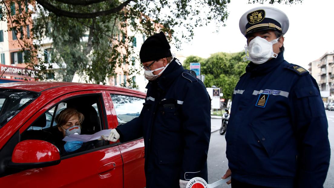 """Viceministro de Salud de Italia: """"El tsunami de coronavirus que ha golpeado el norte del país está retrocediendo"""""""