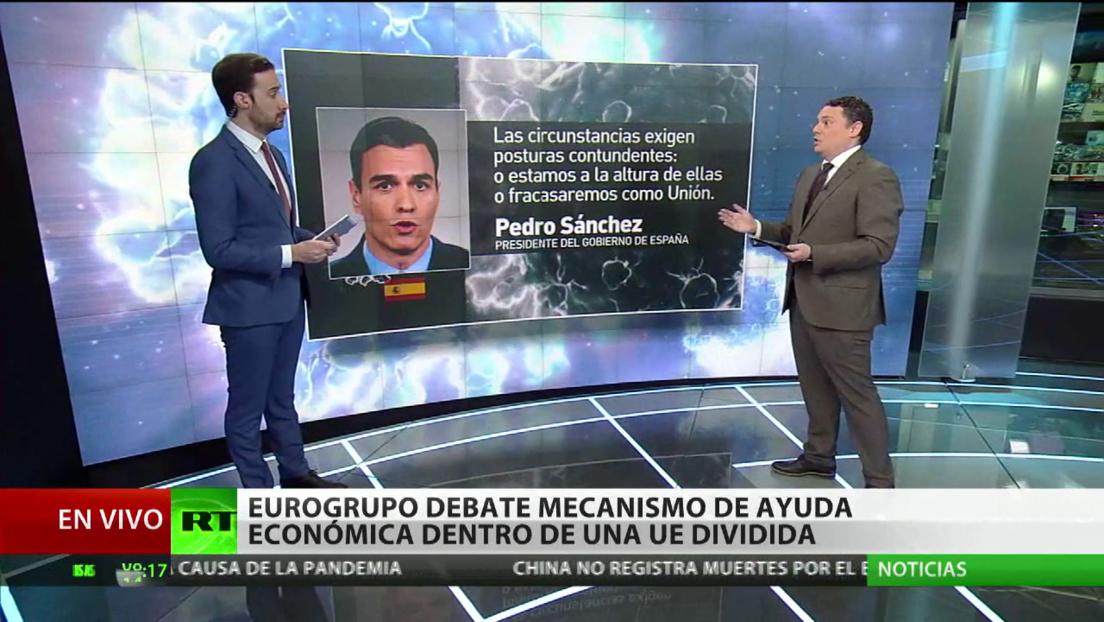 El Eurogrupo debate el mecanismo de ayuda económica dentro de una UE dividida