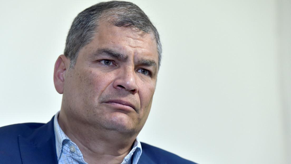 """Tribunal de Ecuador sentencia a Rafael Correa a 8 años de prisión por el delito de """"cohecho agravado"""""""