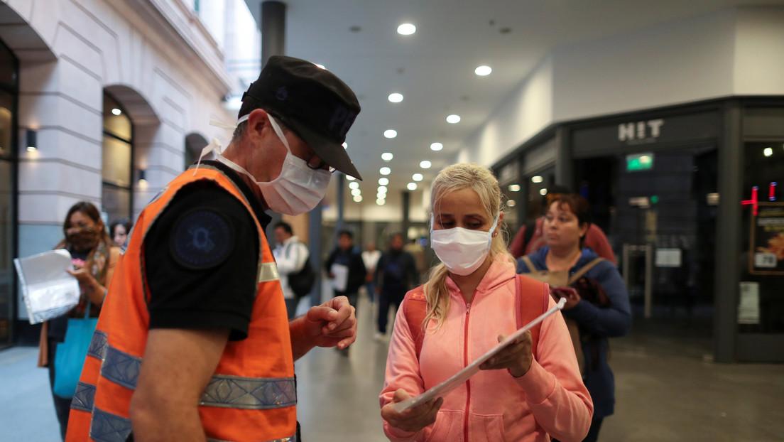 Argentina registra seis nuevas muertes por coronavirus y el total de contagios sube a 1.715