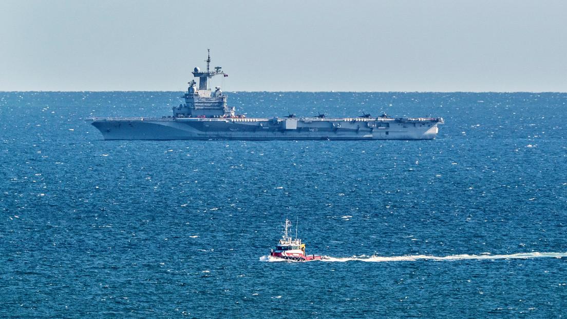 Francia: Se sospecha que algunos miembros del personal del portaaviones Charles de Gaulle tienen covid-19