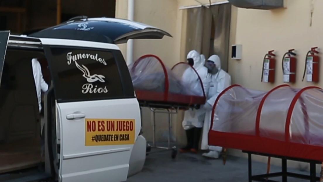VIDEO: Funerarias de Ciudad Juárez trasladan a los cuerpos en cápsulas aislantes por el temor al coronavirus