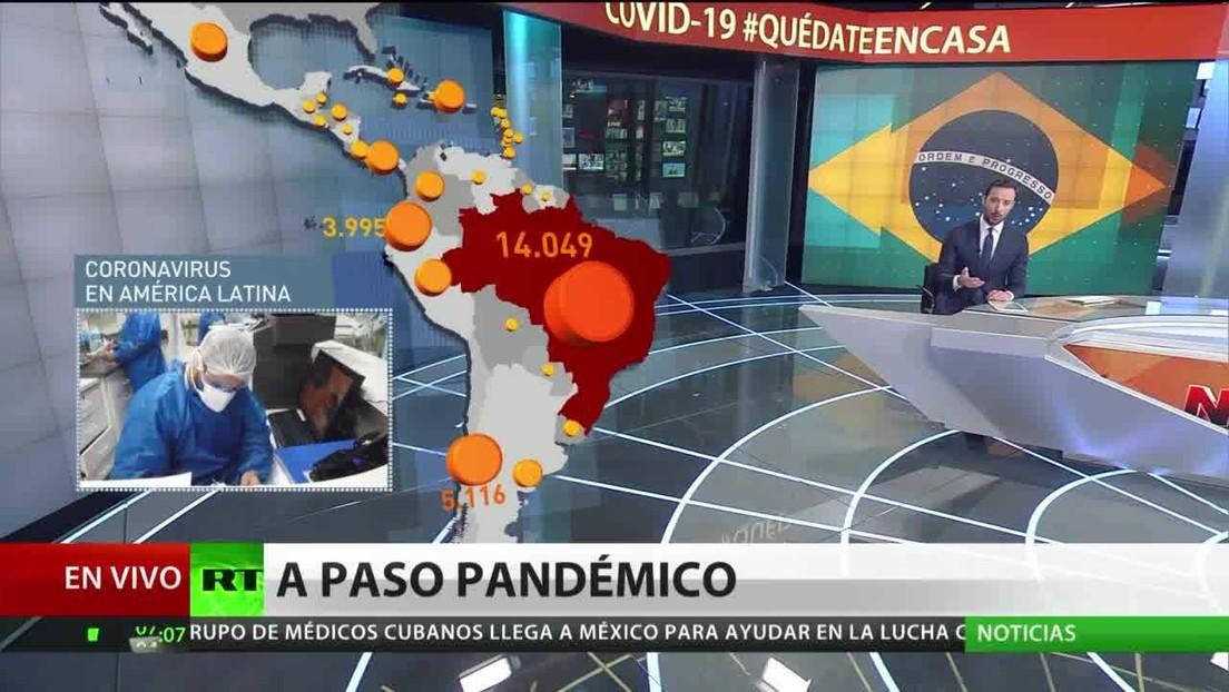 La OPS prevé un aumento de muertes por coronavirus en Latinoamérica en las próximas semanas
