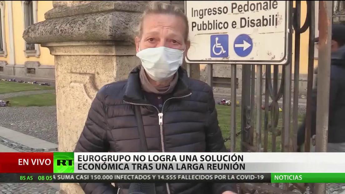 El Eurogrupo no logra una solución económica para la situación con el covid-19