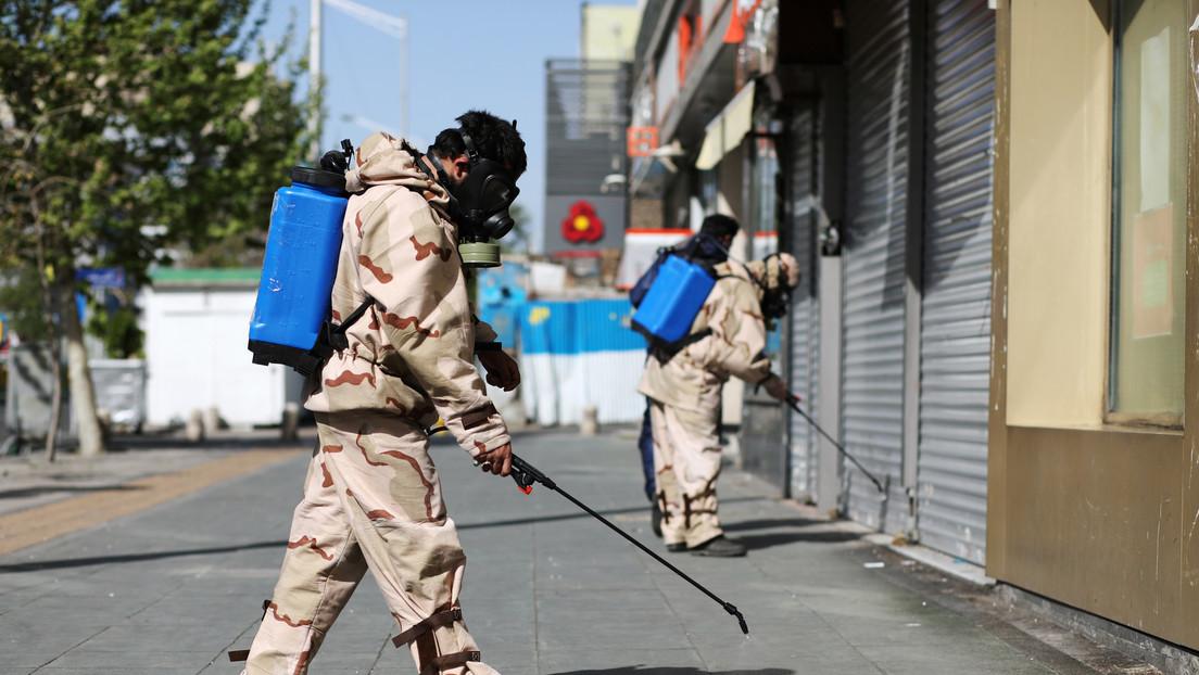 Rohaní solicita al FMI que proporcione medios a Irán para paliar los efectos de la pandemia de covid-19