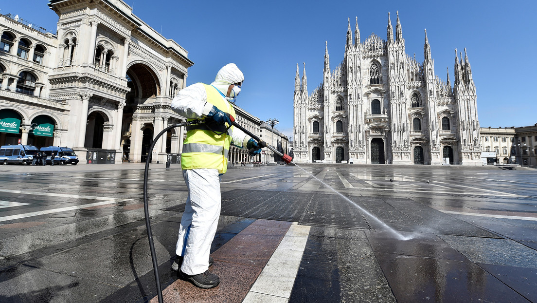 Italia confirma 542 muertes por covid-19 y más de 2.000 personas se recuperan en un día, el número más alto desde el inicio del brote