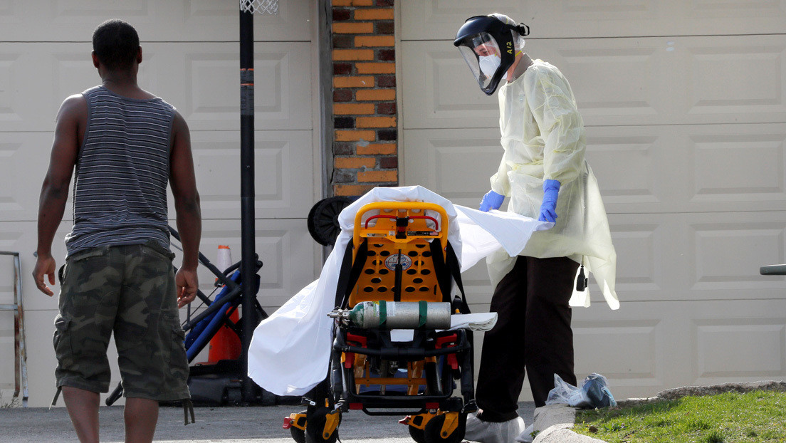 El total de contagios por coronavirus supera en EE.UU. los 400.000
