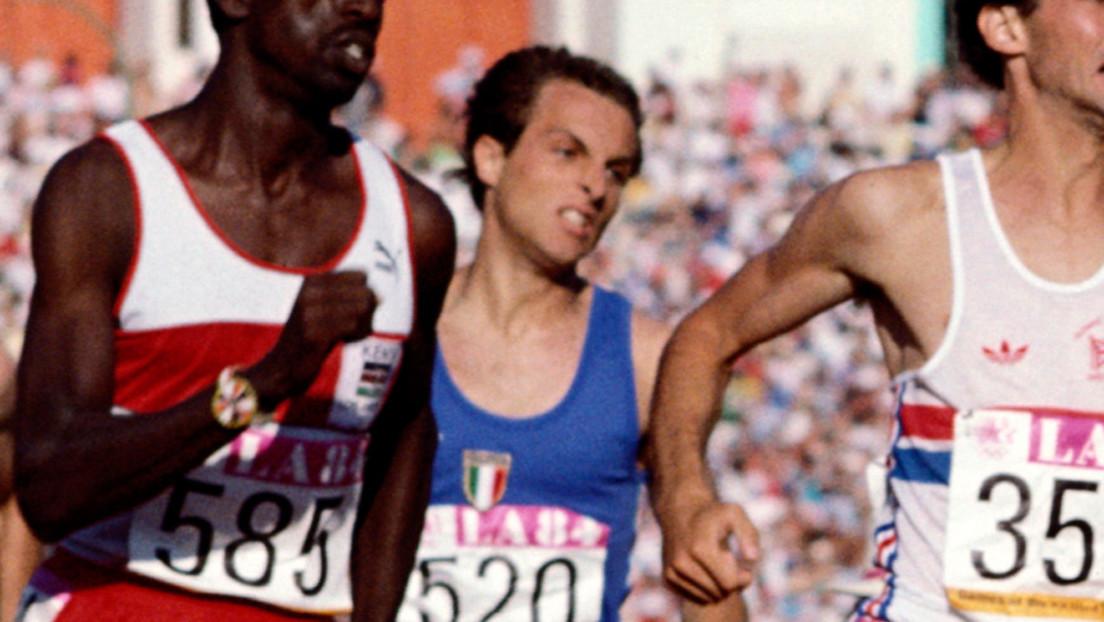 Fallece de covid-19 el atleta italiano Donato Sabia, excampeón de Europa en 800 metros