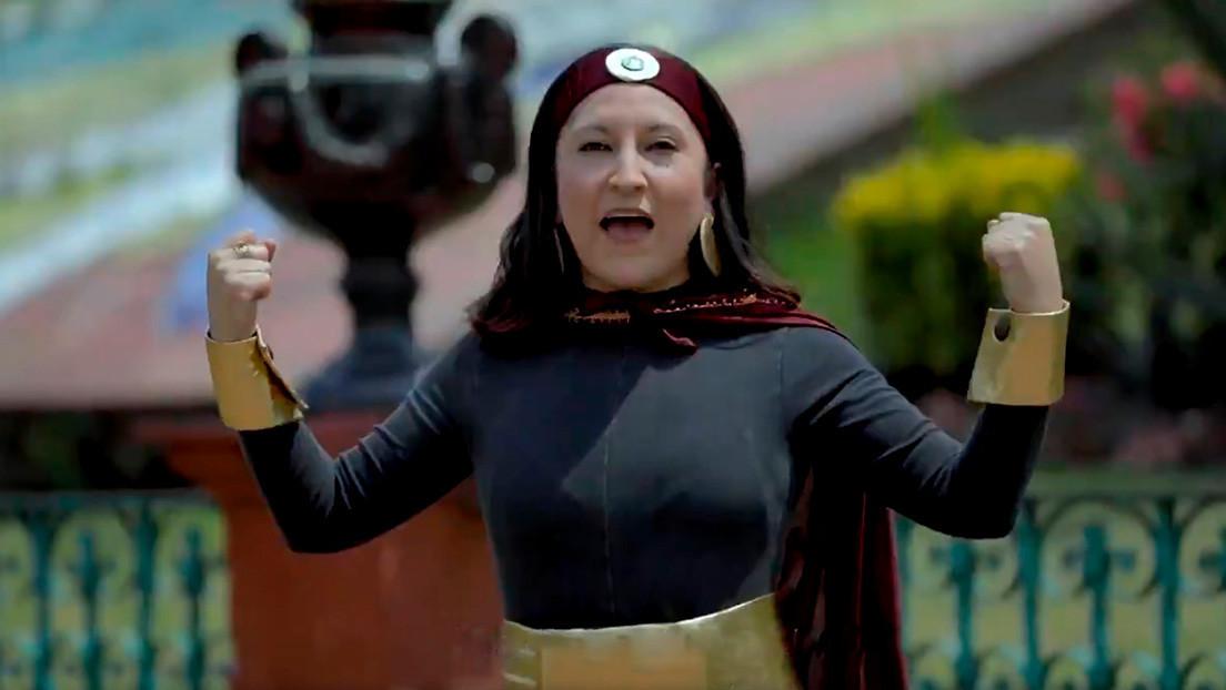 VIDEO: Un anuncio con 'Susana Distancia', la peculiar heroína que 'lucha' contra el coronavirus, causa revuelo en México