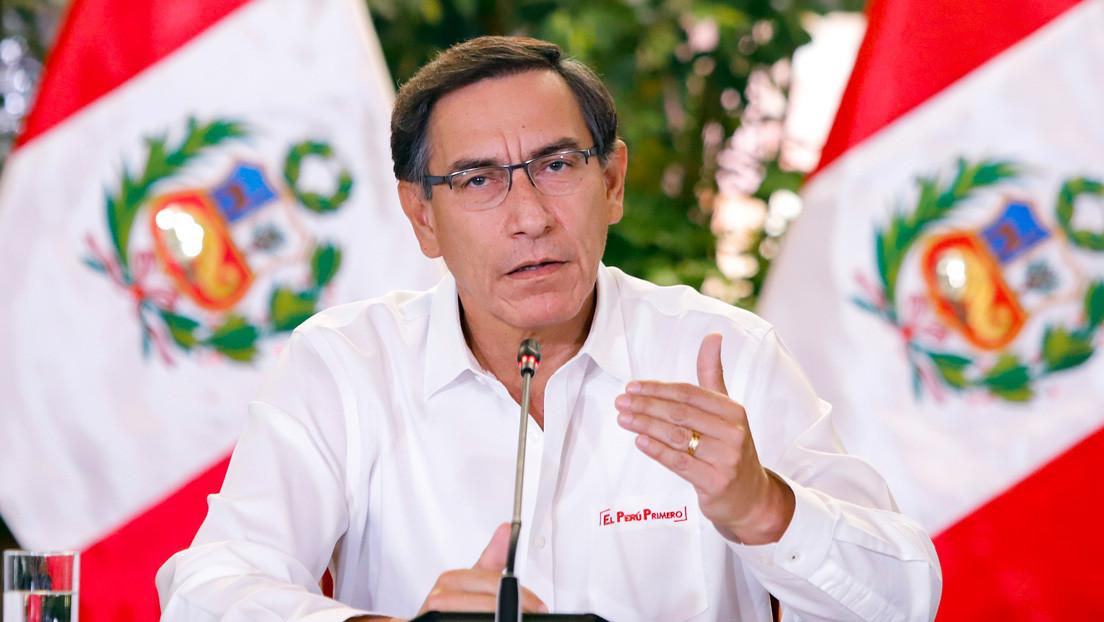 Presidente de Perú decreta la extensión del estado de emergencia hasta el 26 de abril