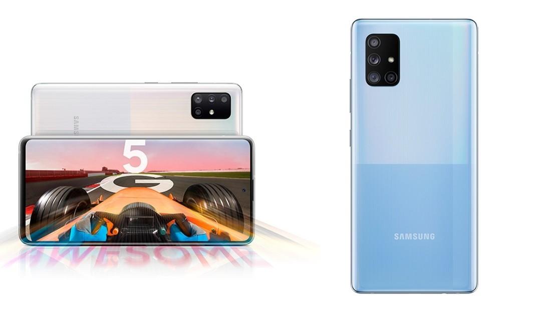 Samsung anuncia dos nuevos 'smartphones' de la gama Galaxy A con conectividad 5G