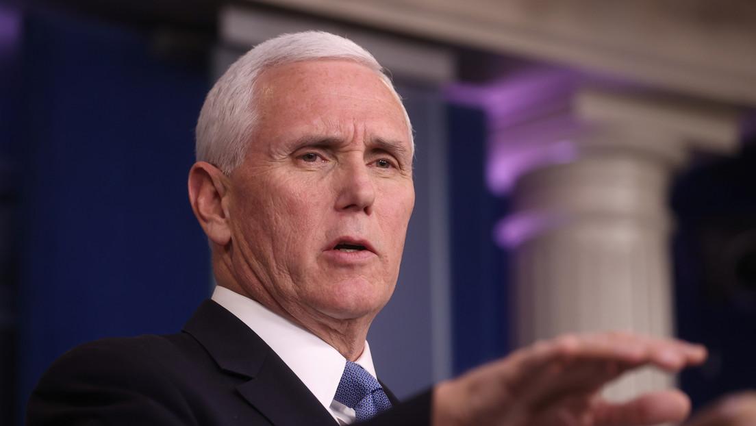 """Mike Pence advierte de que EE.UU. hará """"duras preguntas"""" a la OMS sobre cómo pudo estar """"tan equivocada"""" en su gestión de la pandemia"""