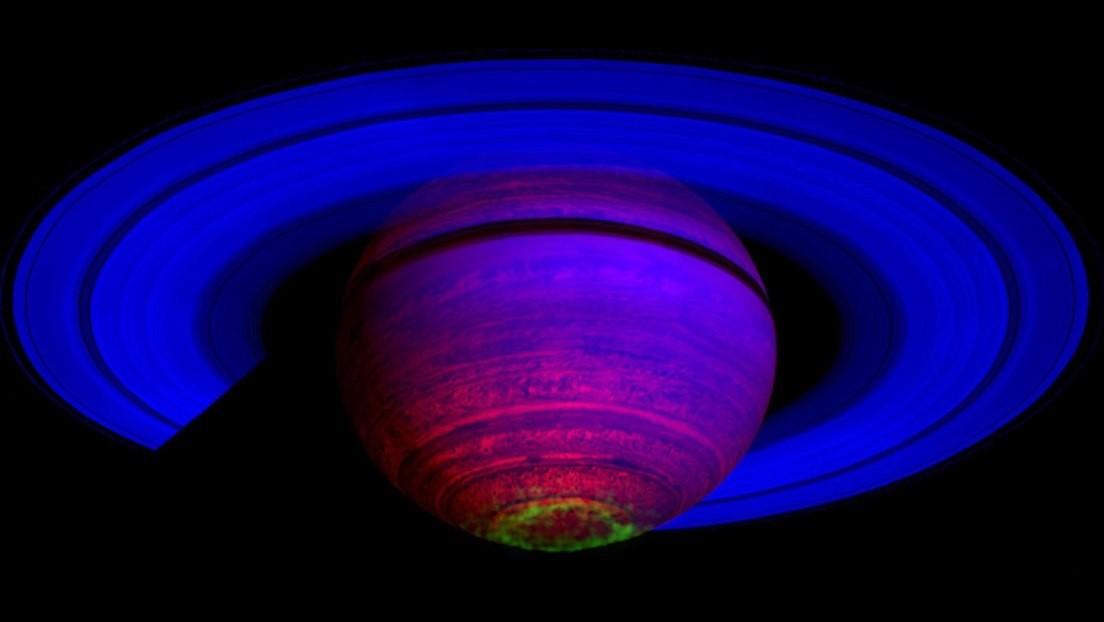 Descubren qué es lo que calienta la atmósfera de Saturno si no es el Sol