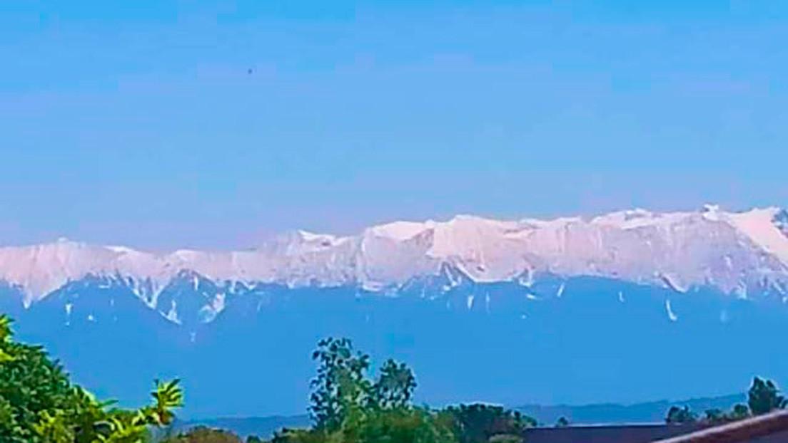 FOTOS: El Himalaya reaparece en la India tras varias décadas, en medio de la cuarentena por el covid-19