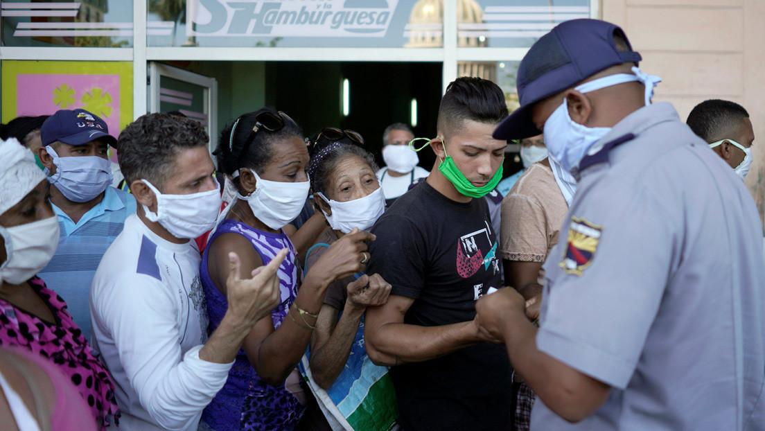 Aumenta en Cuba el número de infectados por covid-19 a 515 y hay 15 fallecidos