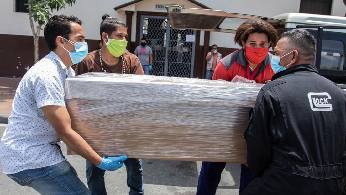 Se eleva a 272 la cifra de fallecidos confirmados en Ecuador y hay casi 5.000 casos positivos por covid-19