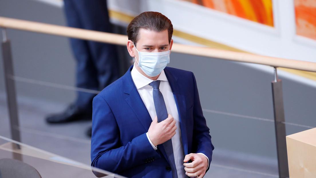 """El canciller de Austria afirma tener """"las mejores cifras ante la pandemia en Europa occidental"""" y urge a no romper la cuarentena en Pascua"""