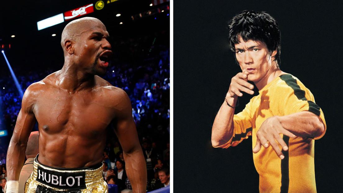 ¿Floyd Mayweather contra Bruce Lee? El excampeón 'peleará' contra leyendas de la historia en combates de boxeo virtuales sin precedentes