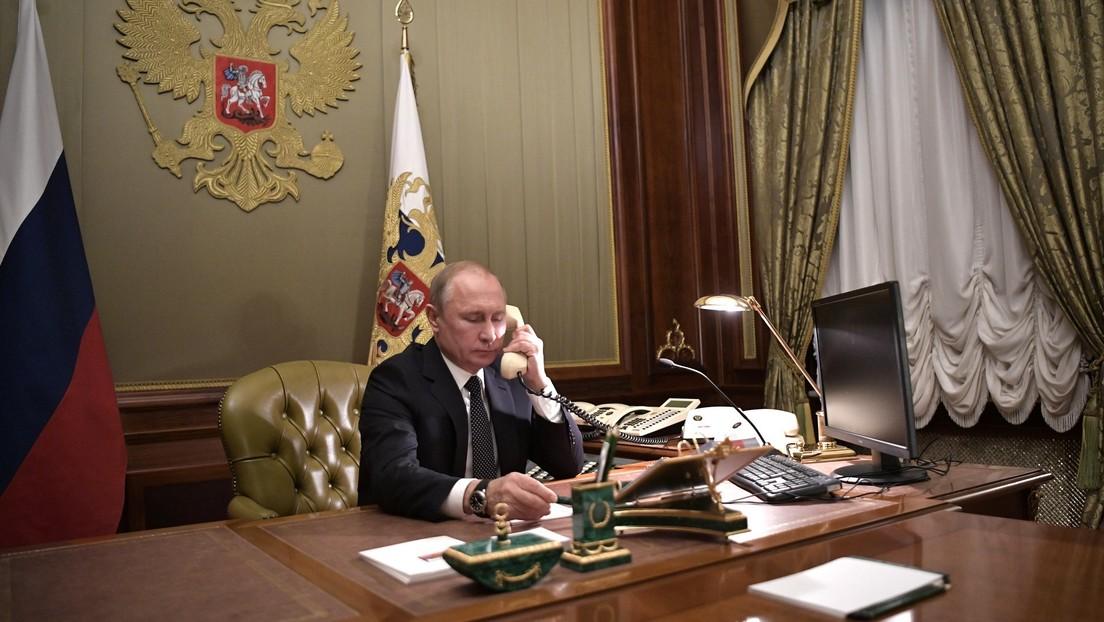 Putin y Trump mantienen una conversación telefónica acerca del nuevo acuerdo de la OPEP+ y la pandemia de coronavirus