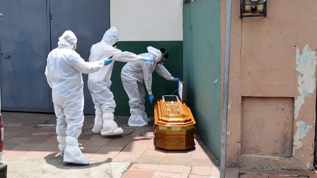 Ecuador suma más de 2.000 casos positivos de coronavirus en 24 horas y el número de fallecidos asciende a 297