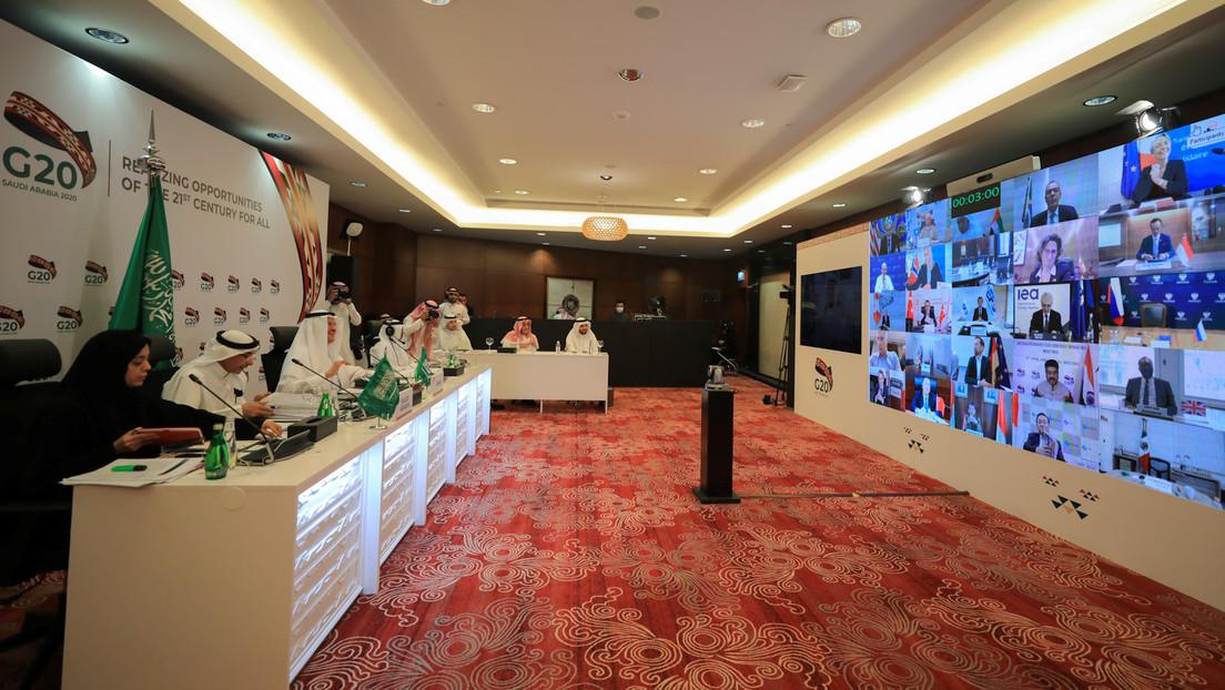 """El G20 reconoce """"emergencia internacional sin precedentes"""" y pacta elaborar medidas """"inmediatas"""" para garantizar la estabilidad del mercado energético"""