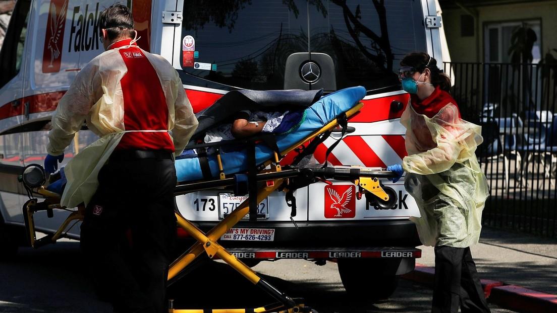 EE.UU. se convierte en el primer país del mundo en reportar más de 2.000 muertes por covid-19 en un solo día