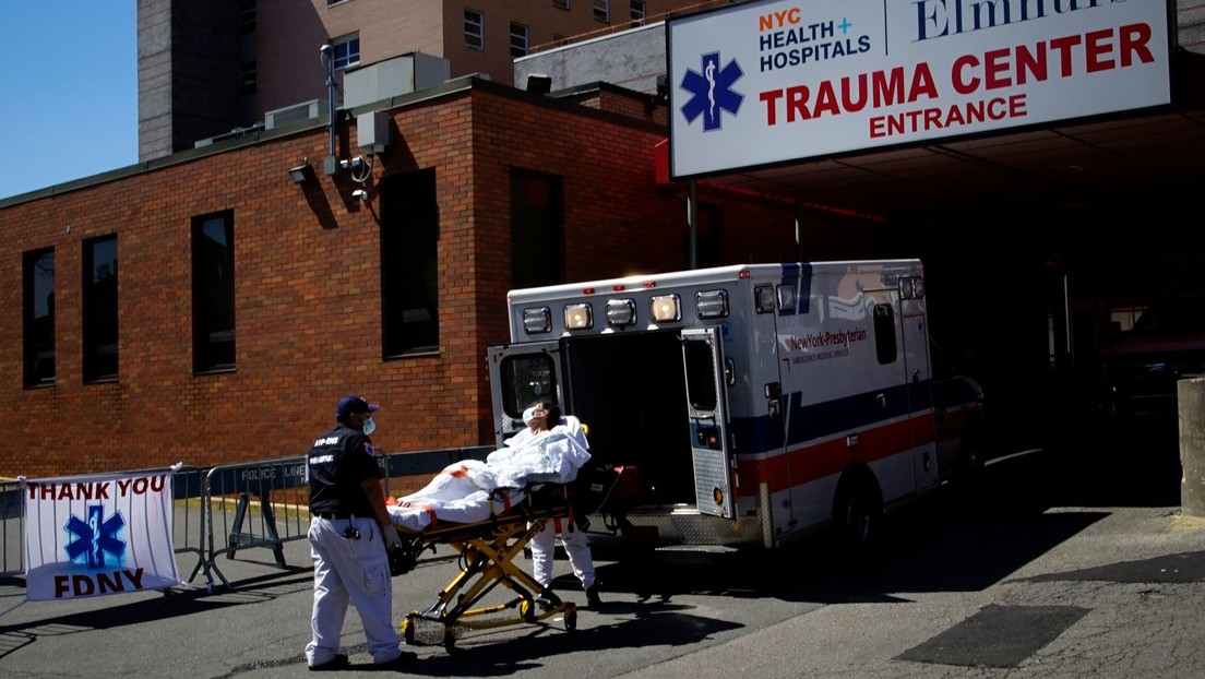 783 personas mueren por coronavirus en Nueva York en las últimas 24 horas