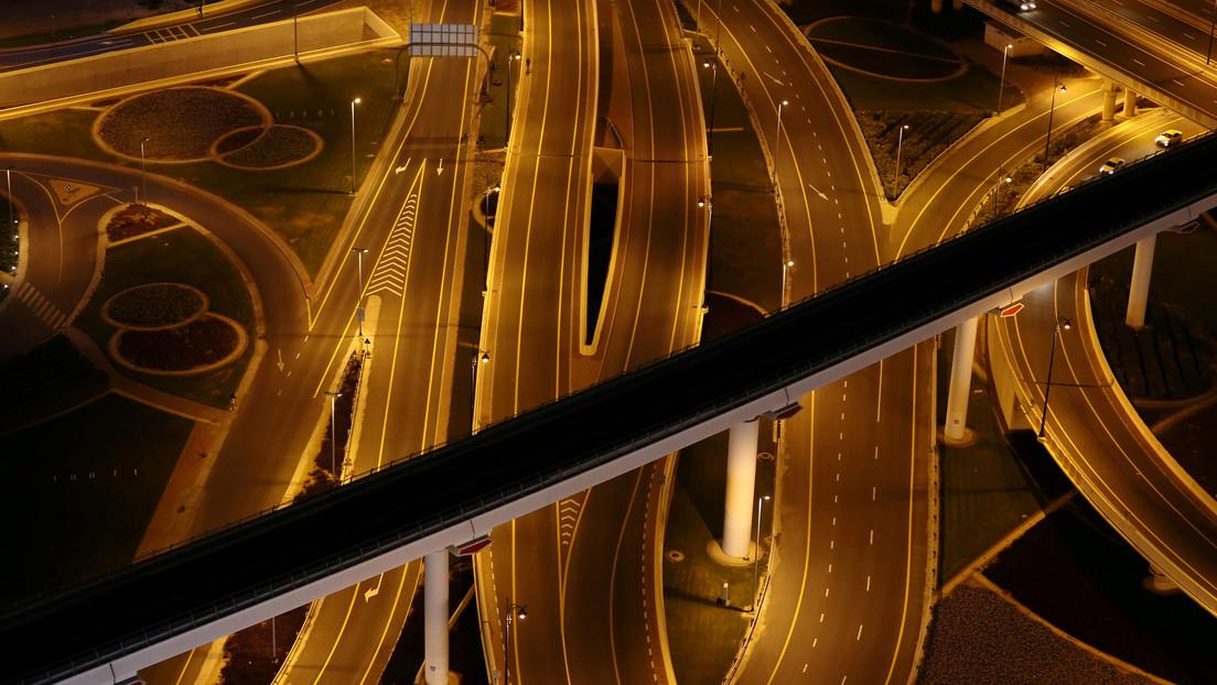 VIDEO: Graba con un dron las calles completamente vacías de Dubái en medio de la pandemia de coronavirus