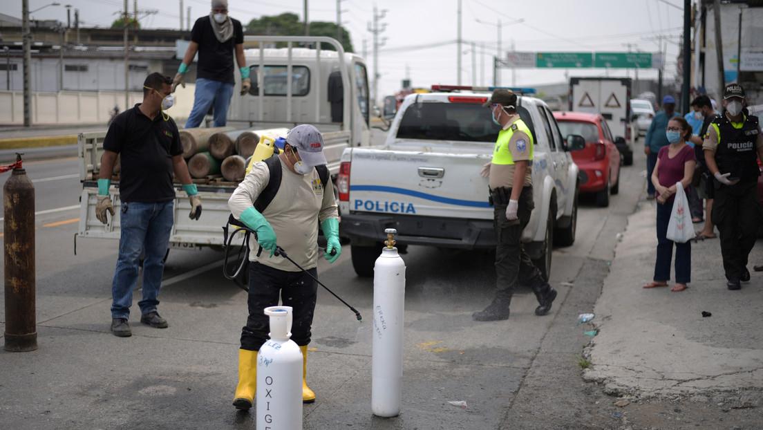 Ecuador registra un total de 315 fallecidos por covid-19 y el número de contagios asciende a 7.257
