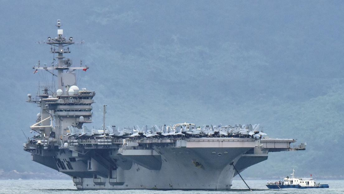 La Armada de EE.UU. confirma 550 casos de infección por coronavirus en el portaviones USS Theodore Roosevelt