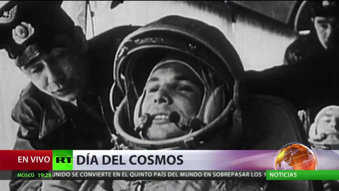 El Día de la Cosmonáutica conmemora el histórico primer vuelo espacial de Yuri Gagarin