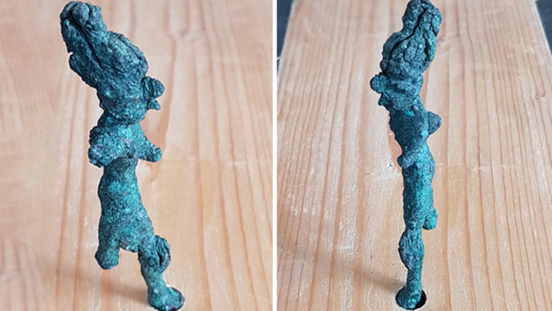 Hallan figurillas inusuales en una ciudad perdida que probablemente estuvo relacionada con el rey David