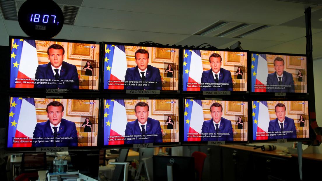 """""""No estábamos preparados"""": Macron extiende la cuarentena en Francia hasta el 11 de mayo"""