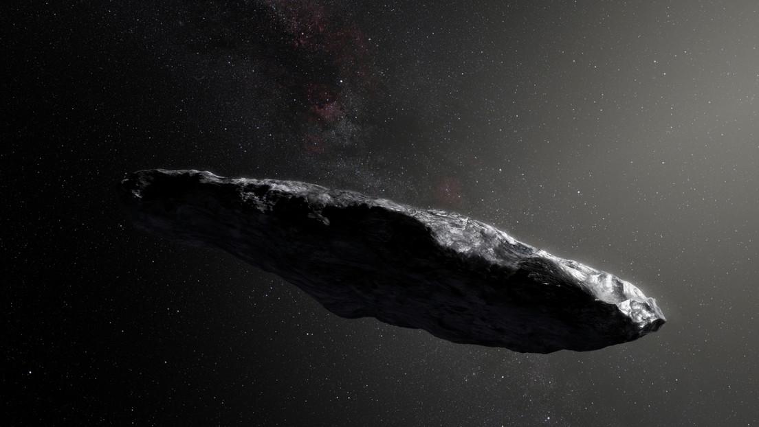 Un estudio explica por qué el asteroide Oumuamua no es muestra de alguna civilización alienígena