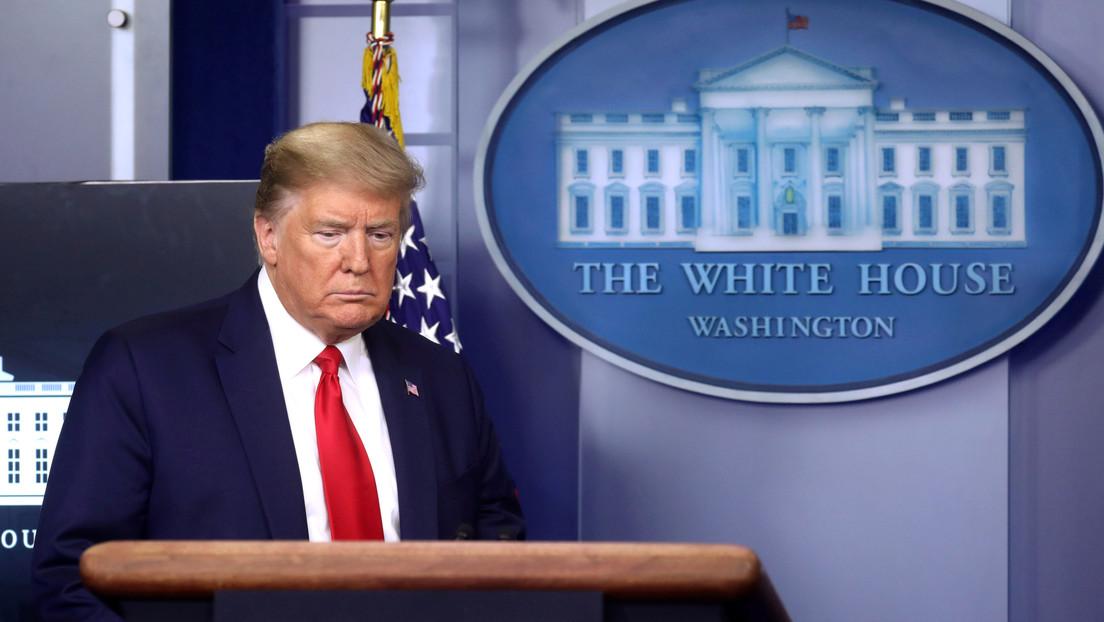 """Trump asegura que el número de nuevos casos de coronavirus en EE.UU. se mantiene """"plano"""""""