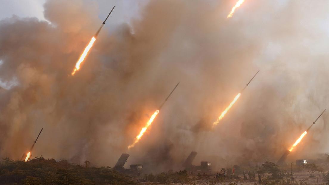 Corea del Norte lanza varios misiles de crucero de corto alcance y misiles aire-tierra