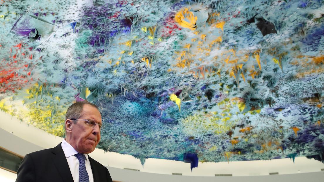 Lavrov insta a no culpar de la crisis del coronavirus a ningún país en particular