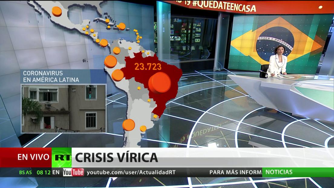 Un estudio alerta que en Brasil puede haber 12 veces más contagios por coronavirus que las cifras oficiales