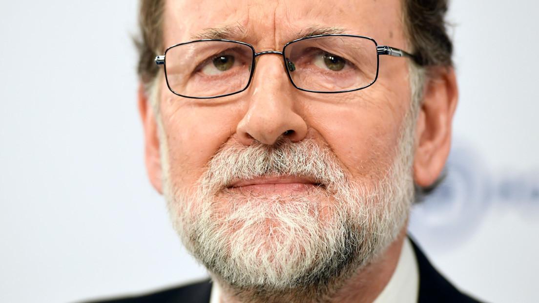 Difunden imágenes del expresidente Rajoy saltándose la cuarentena obligatoria en España para hacer ejercicio