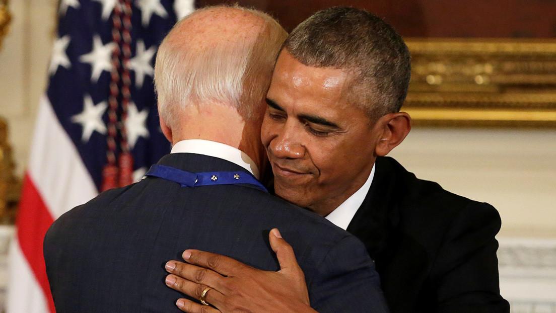 Obama apoya la candidatura de Joe Biden en las elecciones presidenciales