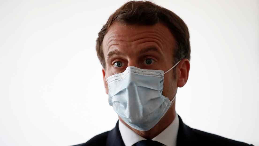 VIDEO: Graban una discusión entre Macron y la empleada de un hospital por la falta de personal y de equipos