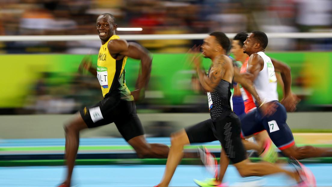 Usain Bolt destaca la importancia del distanciamiento social con su mejor foto olímpica