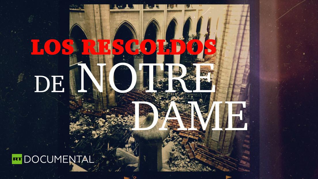 Los rescoldos de Notre Dame
