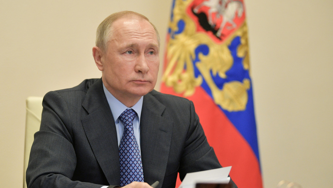 Putin afirma que tiene el coronavirus