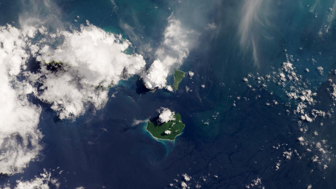 FOTO: Un satélite de la NASA capta una trepidante imagen del Krakatoa en erupción