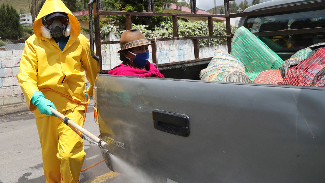 """Ecuador registra 8.225 infectados por covid-19 y más de 1.000 fallecidos entre confirmados y """"probables"""""""