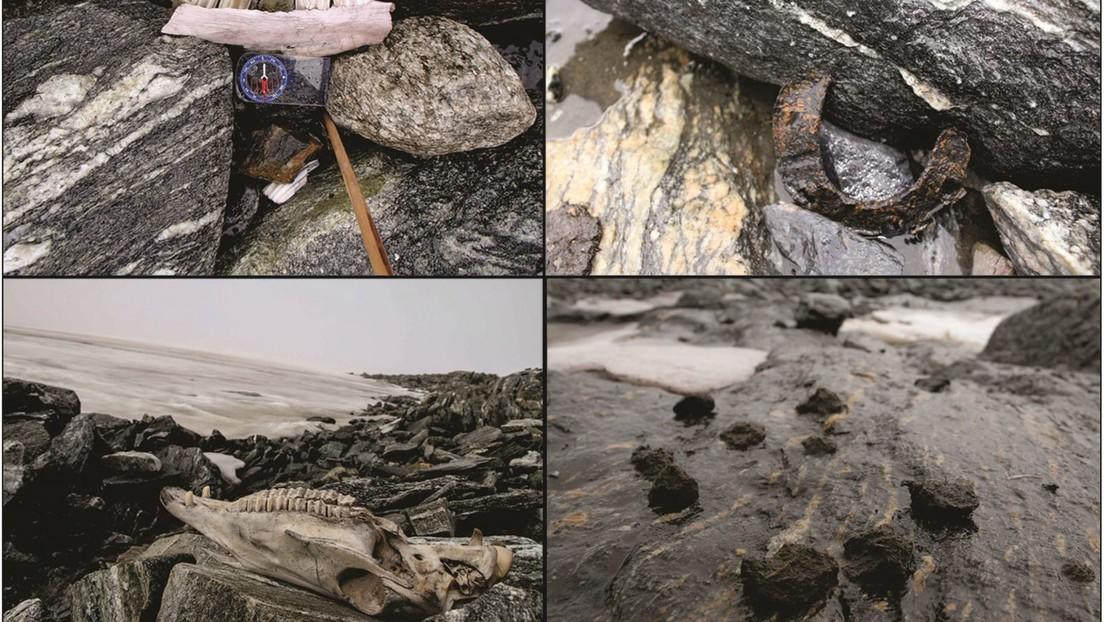 Se derrite un glaciar en Noruega y deja al descubierto objetos antiguos de los vikingos (FOTOS)